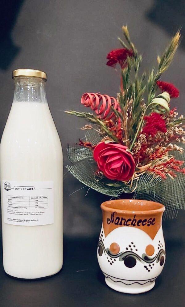 Lapte de Vaca si bivolita BIO, crud, proaspat